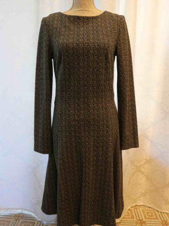 Kleid Franco Callegari 38 in Schwarz Weiss