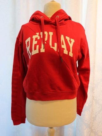 """Pullover Replay """"S"""" in Rot"""