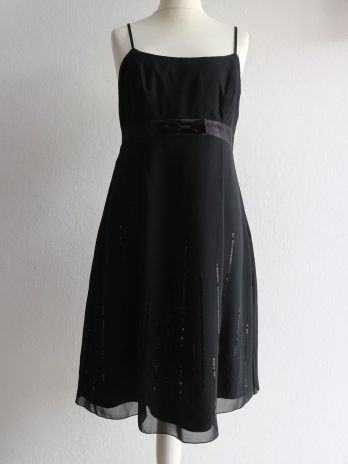 Kleid Zero 38 in Schwarz
