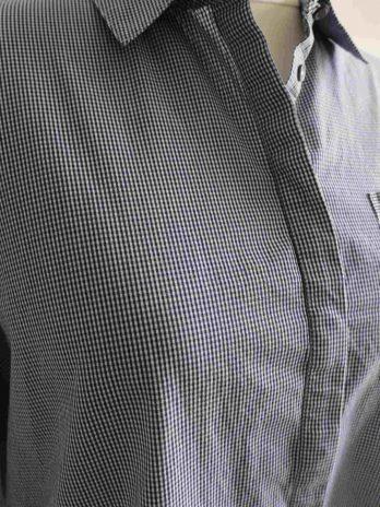 Bluse Tommy Hilfiger 44 in Blau|Weiss