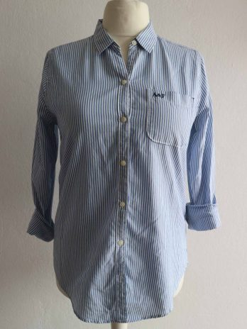 """Bluse Abercrombie&Fitch """"M"""" Hellblau