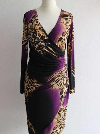 Kleid Frank Lyman 38 in Lila|Beige