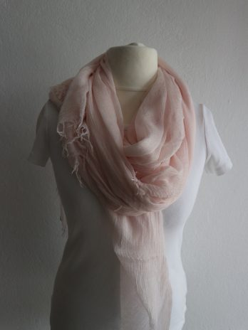 Schal in Rosa