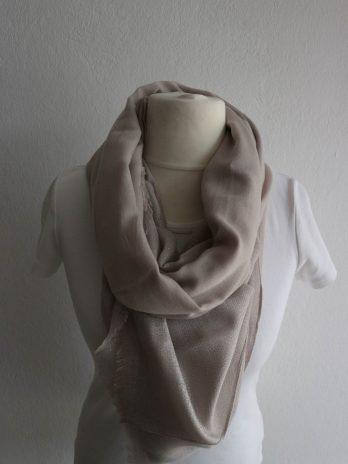 Schal in Beige