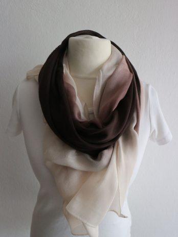 Schal in Braun|Beige