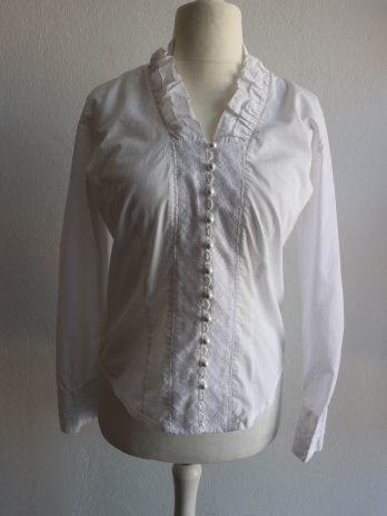 Bluse Arido 36 in Weiss