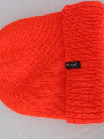 Mütze in Neon Orange