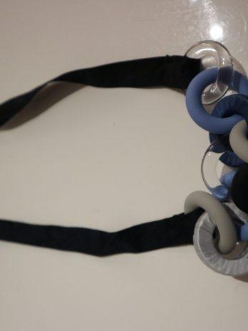 Kette Cos in Blau|Grau
